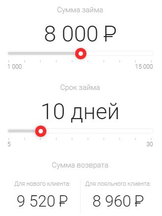 калькулятор веббанкира