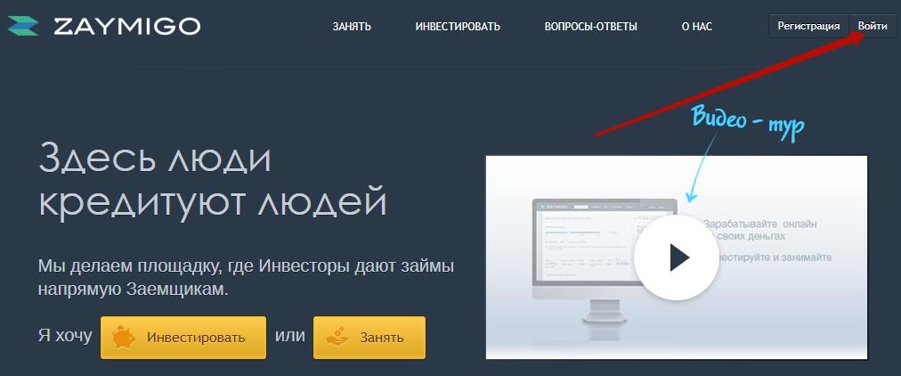сайт займиго